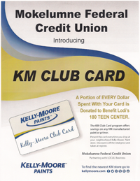 Kelly Moore Card to benefit the 180 Teen Center