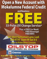 Get a FREE oil change
