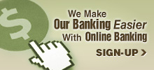 Online Banking Sign-up